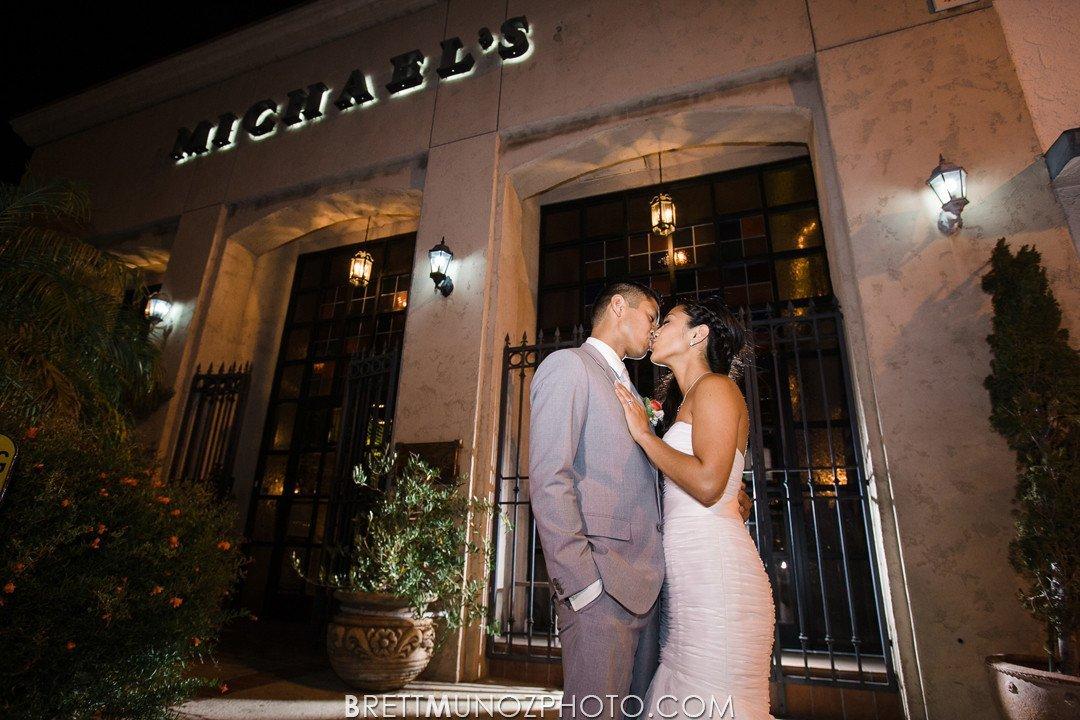 Michaels Tuscany Room Wedding In San Pedro